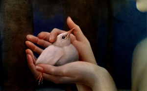 justyna giza biały ptaszek